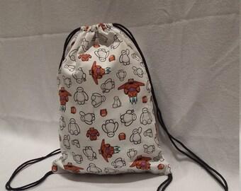 Big Hero 6 Baymax Drawstring Backpack