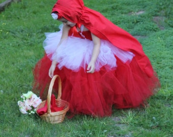 how to make a little red riding hood tutu dress