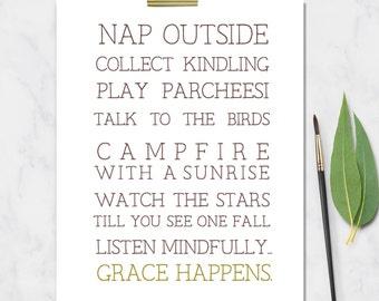 Grace happens,Illustration