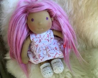 Lola, 9 inch Waldorf Doll
