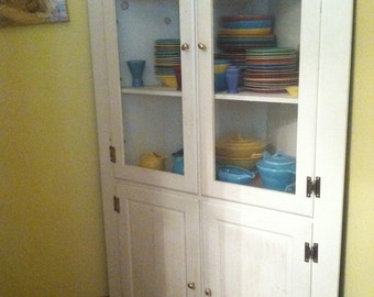 Charming Cottage Corner Cabinet