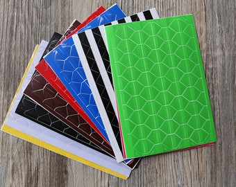 5 sheets 510pcs Photo Corners Stickers,colorful Photo Corners, Scrapbooking Embellishment,  scrapbook corners, photo album stickers