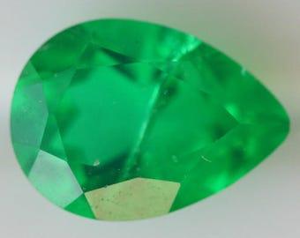Emerald Doublet 1.88cts g2734 Pear Shape 9.96 x 7.26mm Green Pear Cut Faceted Gemstone Jewelry Making Semi Precious Gemstone