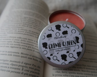 Crime Queen Scented Soy Candle