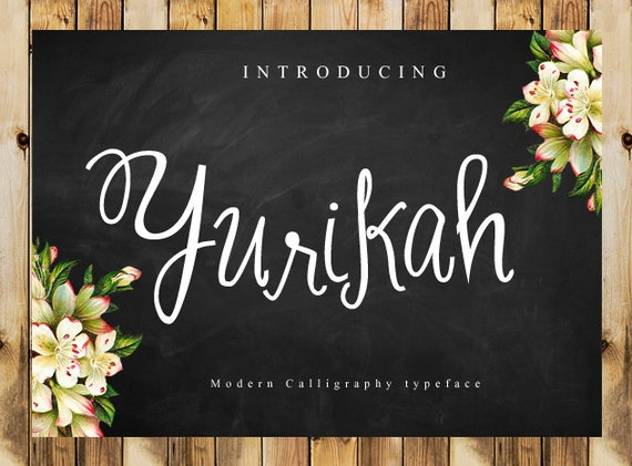 Calligraphy font digital download font handwritten font download