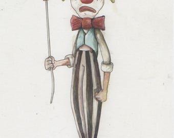 Classic Clown PRINT
