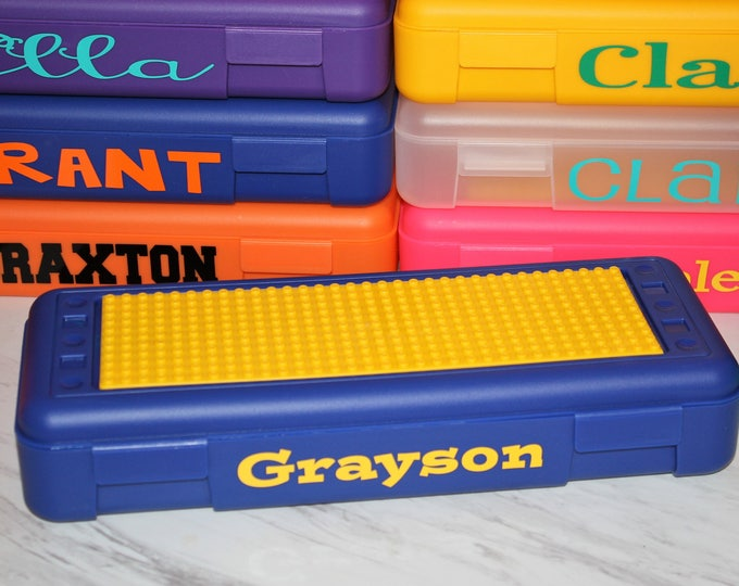 Personalized Lego Storage Box