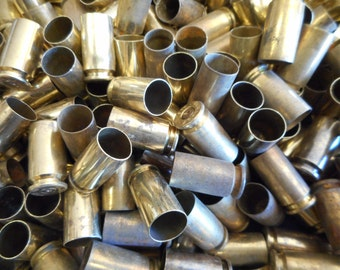 40 S&W Once Fired  Range Brass 350 + Piece, Perfect for Jewelry and Crafts. Range Brass, Supplies, Crafting, Steampunk, DIY