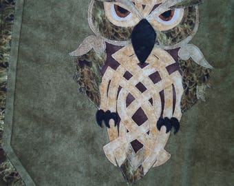Celtic Owl Backpack - Owl Knot - Zoomorphic