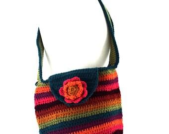 Crochet weekend bag