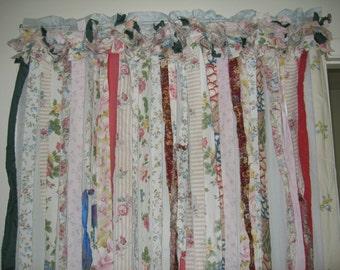 Curtain Boho Shabby Galore  Curtain Window treatment Home Decor