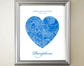 Pamplona Heart Map