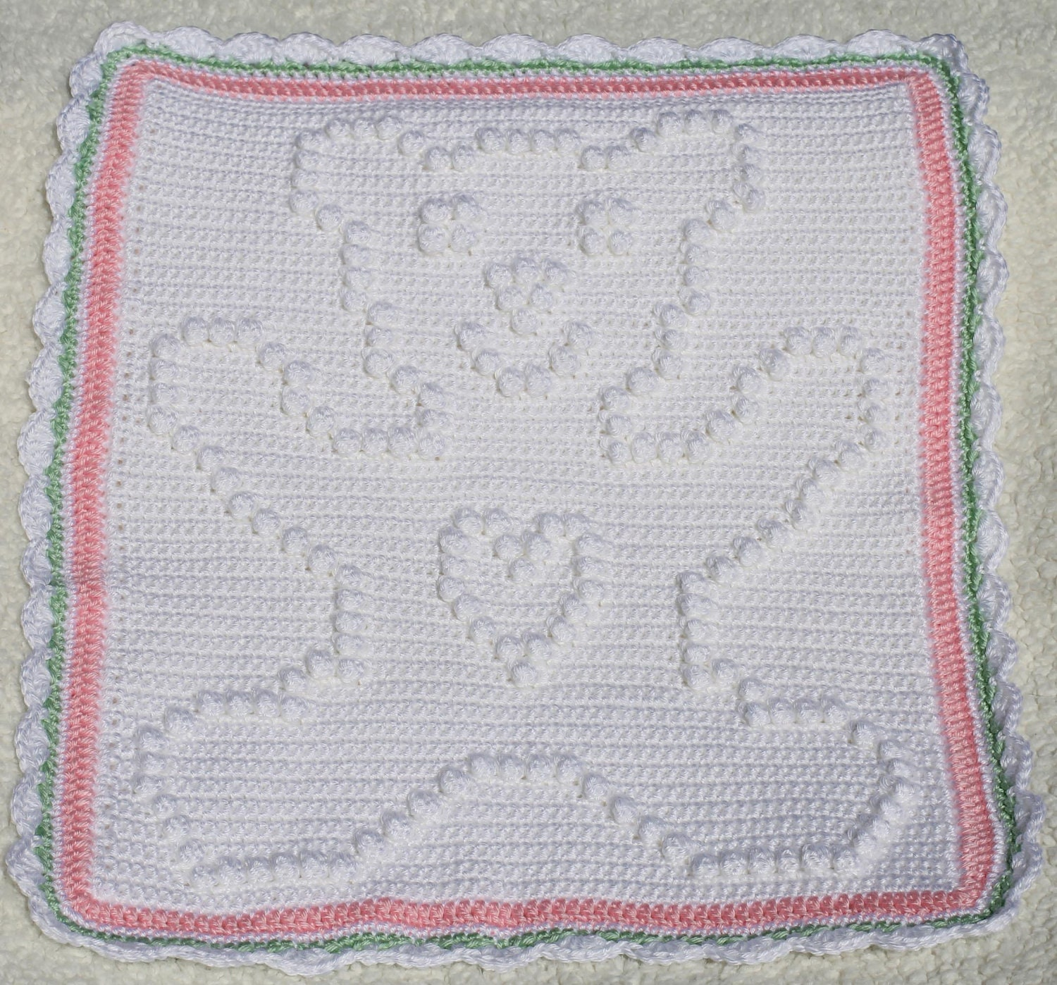 Crochet Pattern - Crochet Baby Security Blanket - Baby Snuggle ...