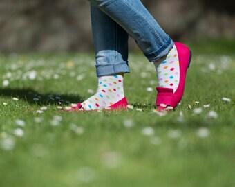 Spotty Socks | Socks | Women socks | Colorful socks | Cool socks | Unique socks | Patterned socks | Crazy socks