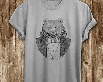 Grizzly bear shirt etsy more colors vintage bear t shirt publicscrutiny Gallery