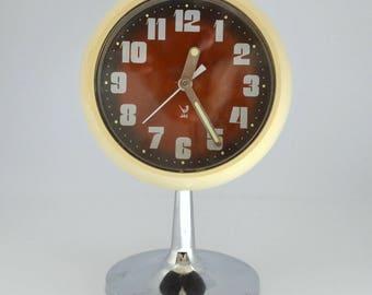 Vintage JAZ alarm clock French 1970s