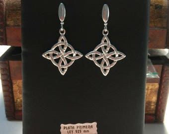 Sterling silver Knot Celtic Love