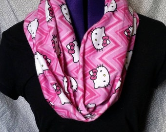 Pink Hello Kitty Scarf