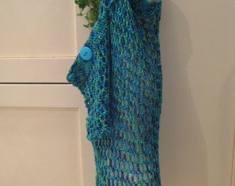 Crochet Pattern Market Bag and Carry Pouch
