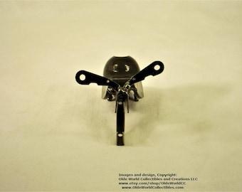 Welded Steel Industrial Steam Sculpture ~ Snail Minnie #2