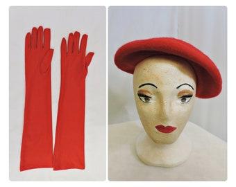 Red Beret & Gloves