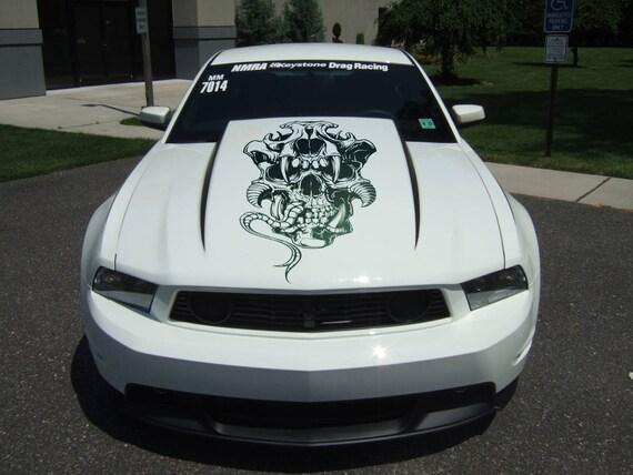 Ancient Demon - Die Cut Vinyl Decal Sticker for cars, windows and walls, JDM DRIFT, Car Sticker, Decal, Halloween