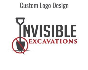 Logo Design Custom Logo Design by TheLogoMat on Etsy
