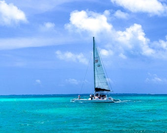 Sailboat Race, Ocean Photography, Beach Photography, Landscape Photography, Travel Photography, Boat Photography, Mexico Landscape
