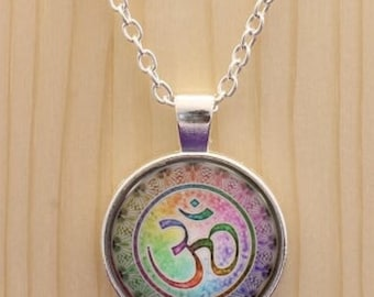 Namaste necklace / Om necklace