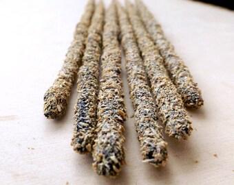 HOLY BLEND Artisan Incense - frankincense, myrrh, copal, white sage, palo santo, handmade incense, wiccan, witchcraft
