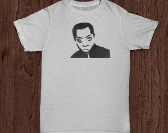 James Baldwin (Custom Author T-Shirt)