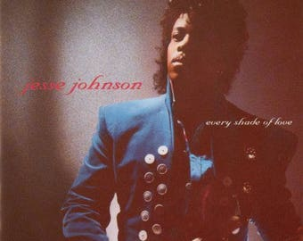 "Jesse Johnson - ""Every Shade of Love"" vinyl"