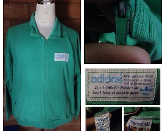 Vintage Adidas Sweater 80's. Made in France. Ventex Production.