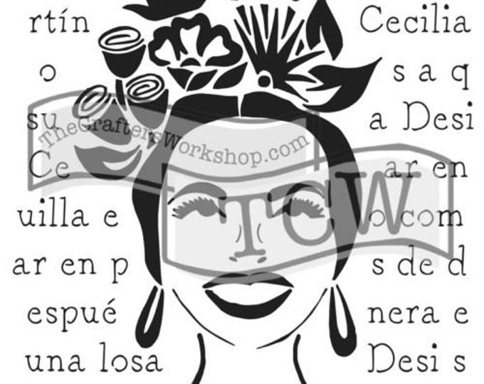 Chica Florita 6x6: TCW648