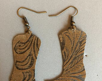 Cowboy Boot Earrings
