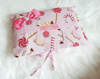 Diaper pouch printed candy and sweets miiiammm