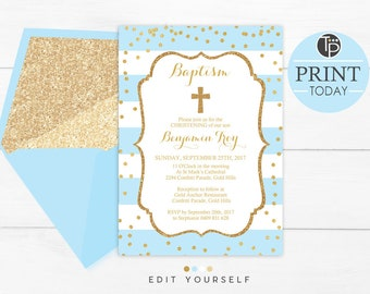 Boy baptism invitations instant download navy and gold baby blue baptism invitation instant download boy baptism invitation baby blue christening invitation baptism invitations blue gold solutioingenieria Choice Image