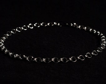 Japanese 6:3 Stainless Steel (4mm) Chainmail Jewellery Necklace