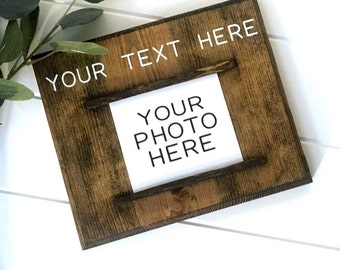 Personalized Picture Frame | Custom Photo Frame | Personalized Gift | Gallery Wall | Gifts for Her | Boyfriend Gift | Girlfriend Gift | Pics