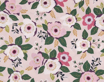 Planner Cover - in Magnolia floral fabric - F2