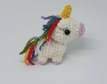 PATTERN ONLY - Amigurumi miniature Unicorn Crochet Pattern