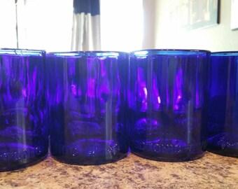 YAVA Glass - Upcycled Wild Tonic Bottle Glasses (Set of 4)