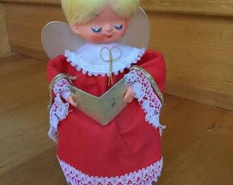 Vintage Musical Christmas Angel