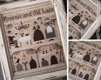 Arsenic and Old Lace - DIGITAL PDF Cross Stitch Pattern