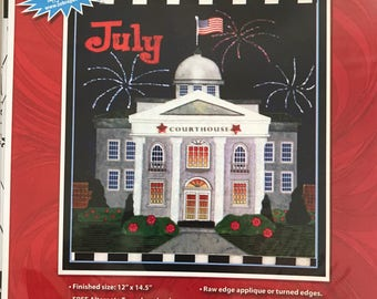 Holiday Houses Patterns - July