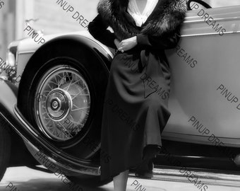 "Jean Harlow Vintage Retro Photo Wall Art Print of Hollywood Movie Stars size A4 (11.7"" x 8.3"")"