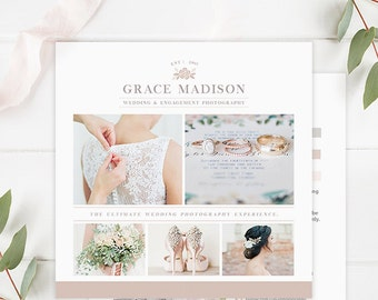 Photography Studio Gift Certificate Template, Photography Gift Card Template Photography Templates - GCT106