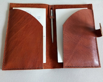 Leather Refillable Journal Cover Notebook cover