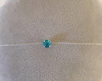 Rhinestone Swarovski 4 mm nylon thread