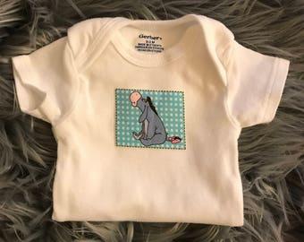 Eeyore Gerber Onesie Baby Bodysuit